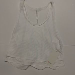 NWT Lululemon Lean in Tank size 12